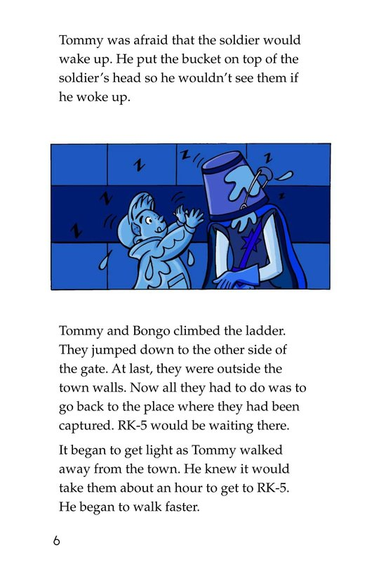 Book Preview For Tommy and the Mew-Coo-Coo Birds Page 6