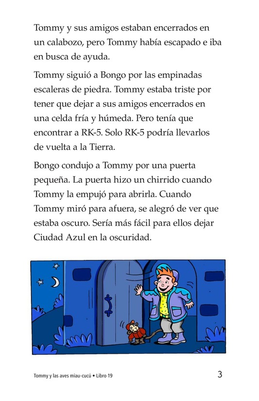 Book Preview For Tommy and the Mew-Coo-Coo Birds Page 3