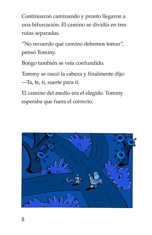 Book Preview For Tommy and the Mew-Coo-Coo Birds Page 8