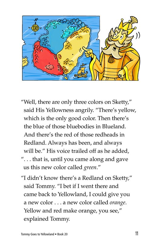 Book Preview For Tommy Goes to Yellowland Page 11