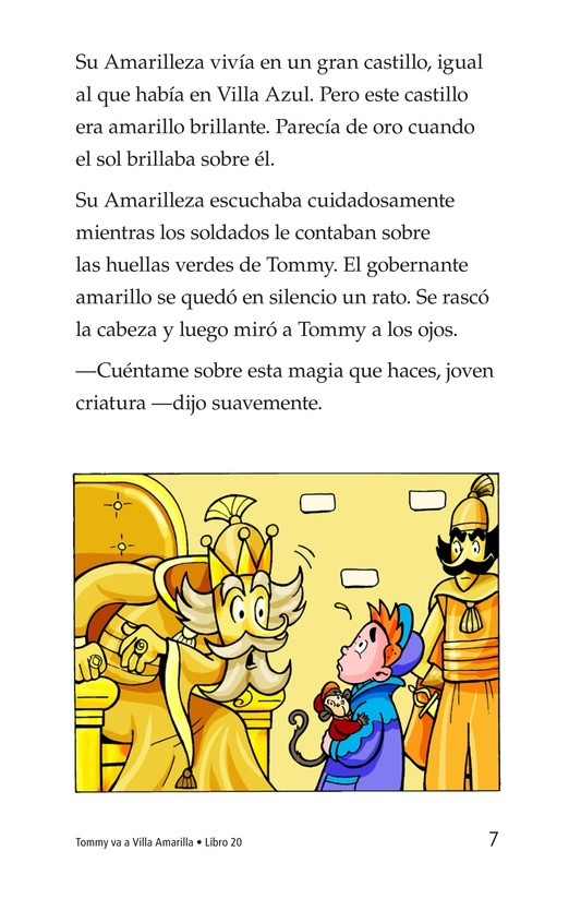Book Preview For Tommy Goes to Yellowland Page 7