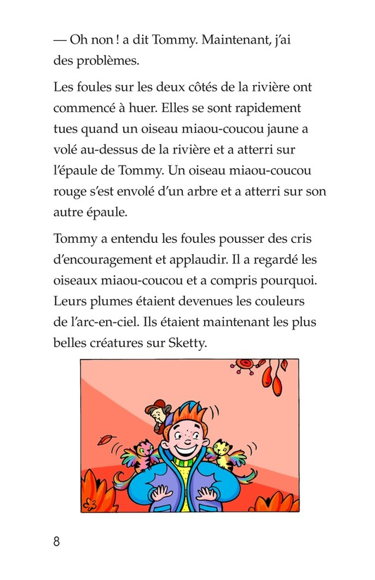 Book Preview For Tommy, His Rainbowness Page 8