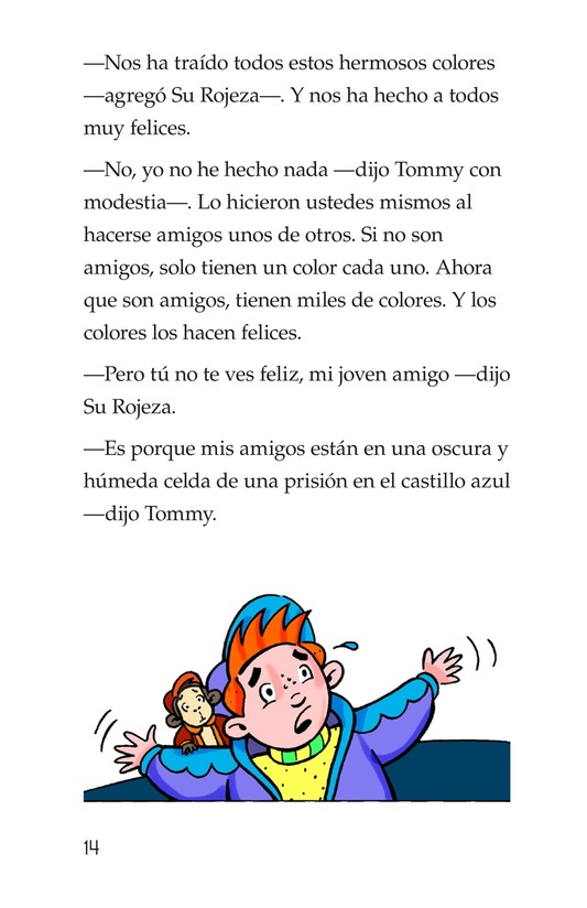Book Preview For Tommy, His Rainbowness Page 14