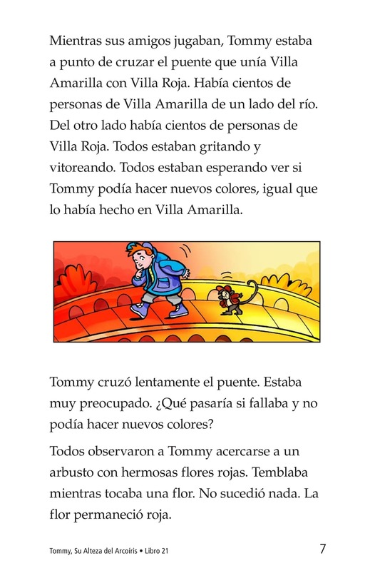 Book Preview For Tommy, His Rainbowness Page 7