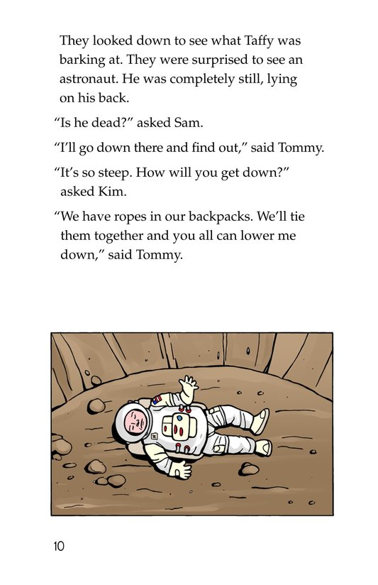 Book Preview For Tommy Goes to the Moon Page 10