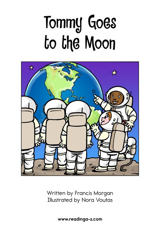 Book Preview For Tommy Goes to the Moon Page 2
