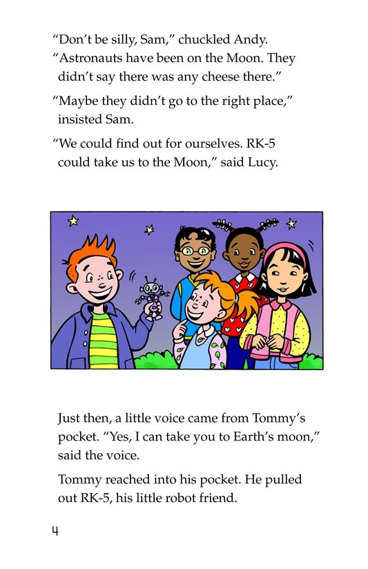 Book Preview For Tommy Goes to the Moon Page 4