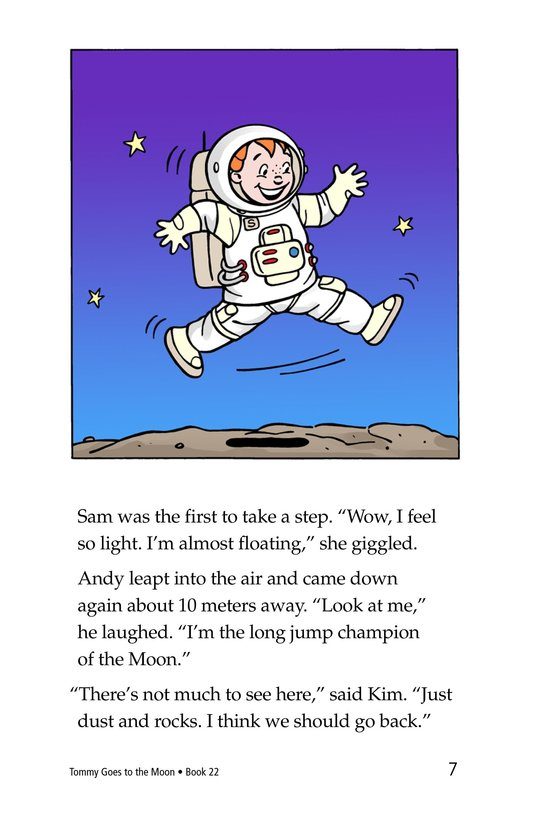 Book Preview For Tommy Goes to the Moon Page 7