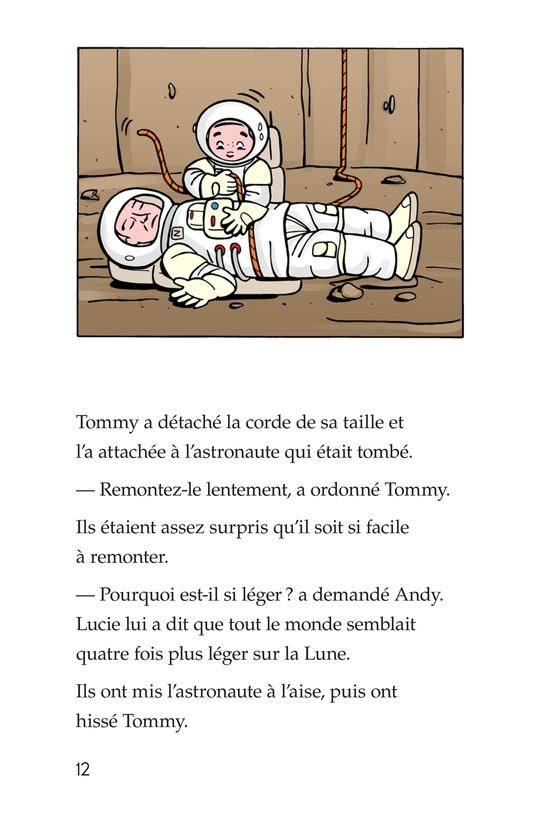 Book Preview For Tommy Goes to the Moon Page 12