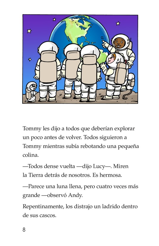 Book Preview For Tommy Goes to the Moon Page 8