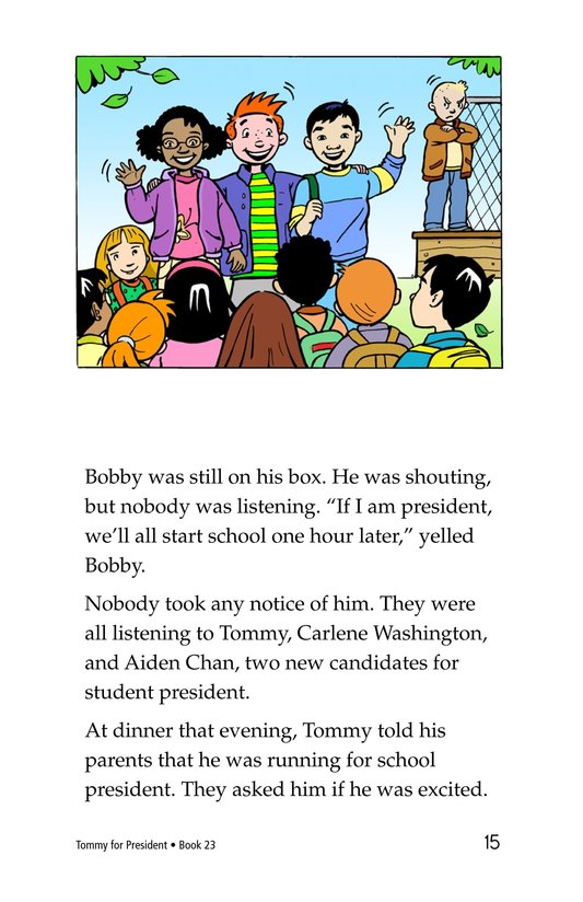 Book Preview For Tommy For President Page 15