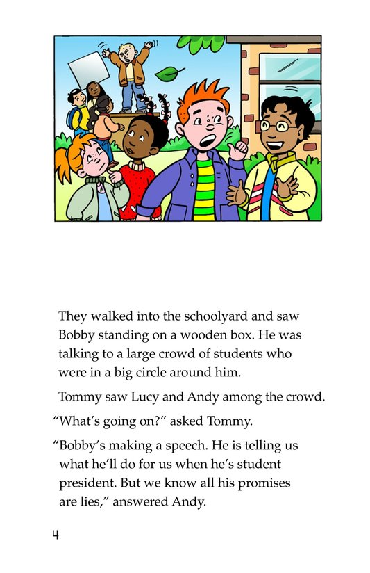 Book Preview For Tommy For President Page 4