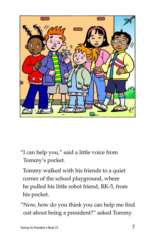 Book Preview For Tommy For President Page 7