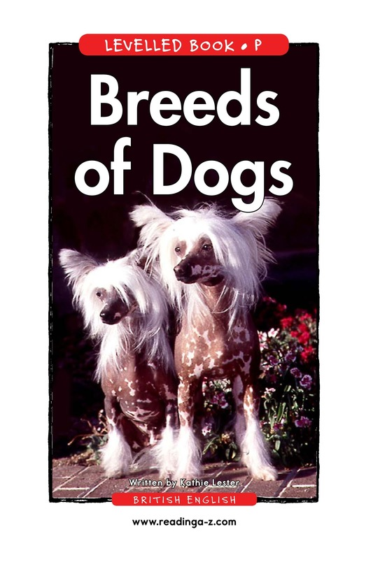 Book Preview For Breeds of Dogs Page 1