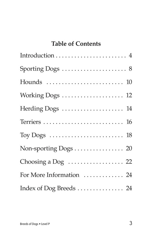 Book Preview For Breeds of Dogs Page 3