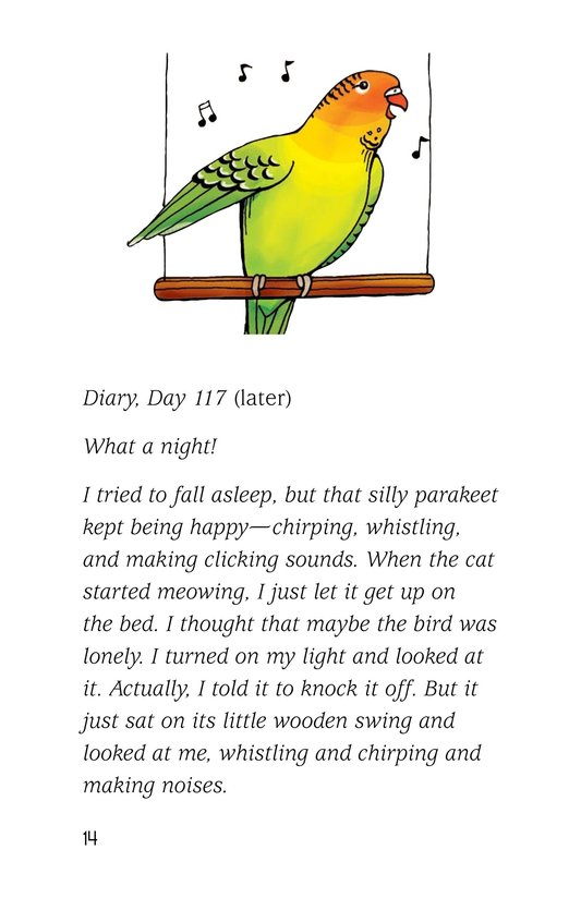 Book Preview For A Late Night Chat with a Parakeet Page 14