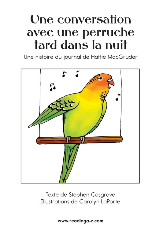Book Preview For A Late Night Chat with a Parakeet Page 2
