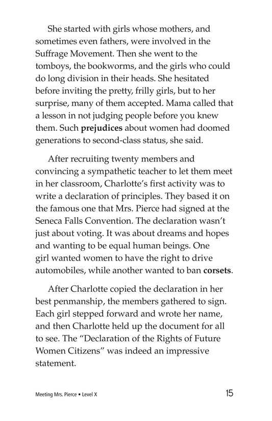 Book Preview For Meeting Mrs. Pierce Page 15