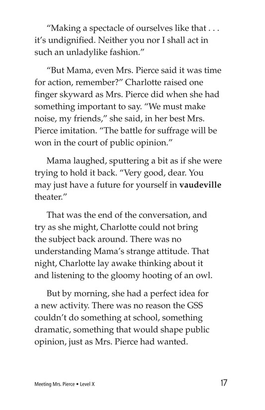 Book Preview For Meeting Mrs. Pierce Page 17