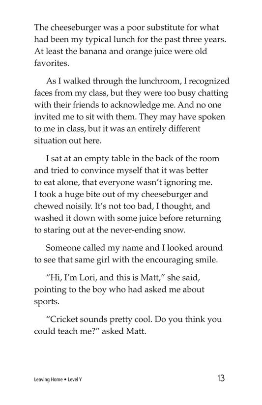Book Preview For Leaving Home Page 13