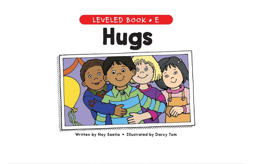 Book Preview For Hugs Page 1