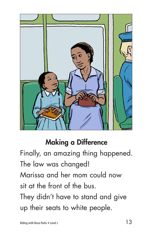 Book Preview For Riding With Rosa Parks Page 13
