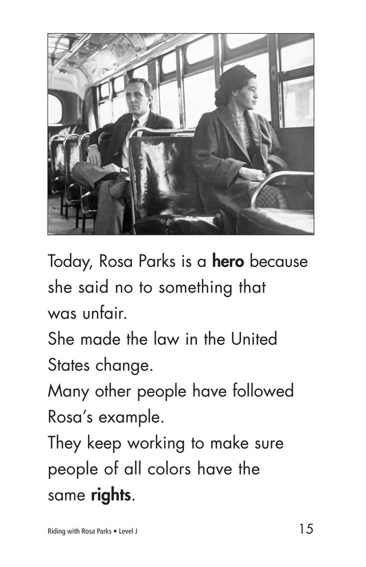 Book Preview For Riding With Rosa Parks Page 15