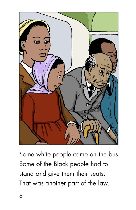 Book Preview For Riding With Rosa Parks Page 6