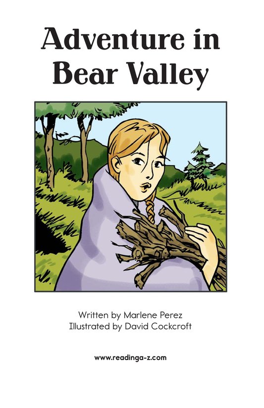 Book Preview For Adventure in Bear Valley Page 2