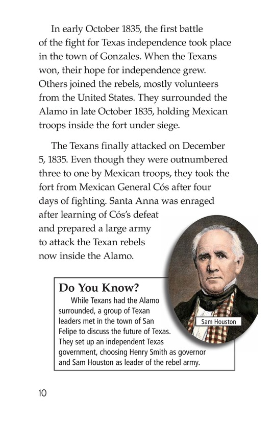 Book Preview For Remembering the Alamo Page 10
