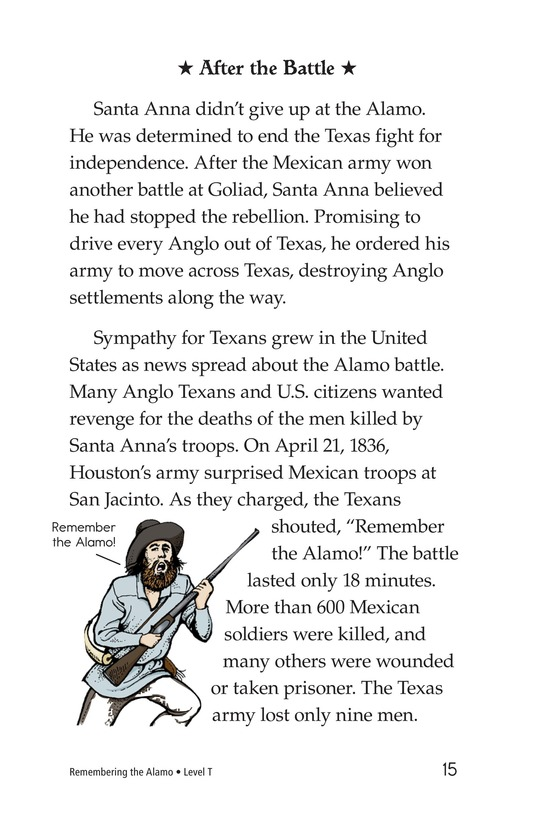 Book Preview For Remembering the Alamo Page 15