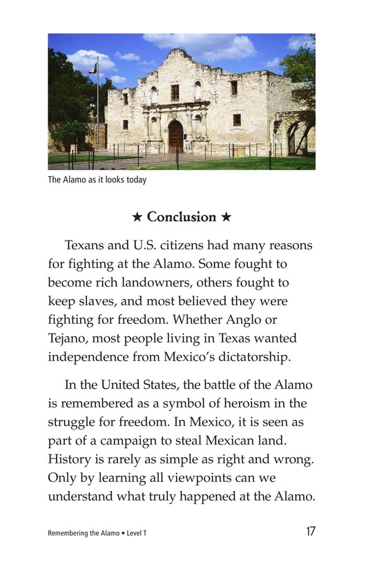 Book Preview For Remembering the Alamo Page 17
