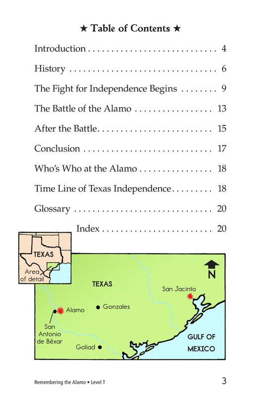Book Preview For Remembering the Alamo Page 3