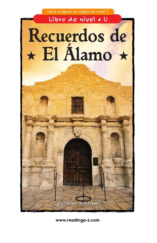 Book Preview For Remembering the Alamo Page 1