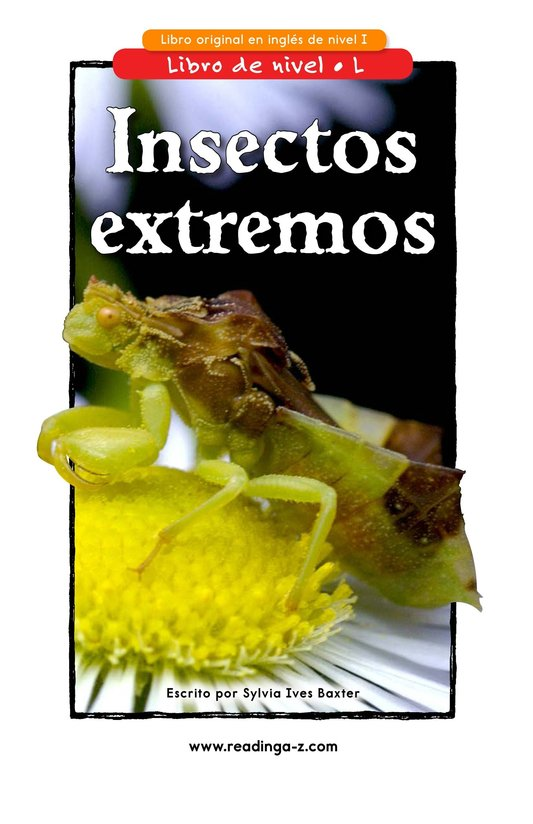 Book Preview For Extreme Insects Page 1