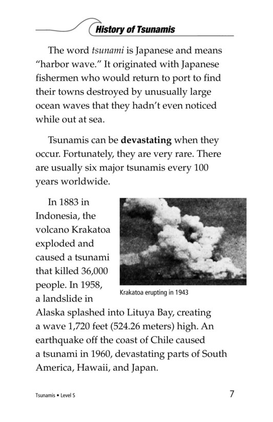 Book Preview For Tsunamis Page 7