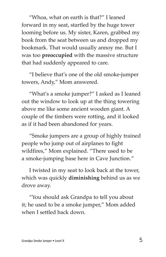 Book Preview For Grandpa Smoke Jumper Page 5