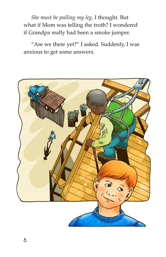 Book Preview For Grandpa Smoke Jumper Page 6