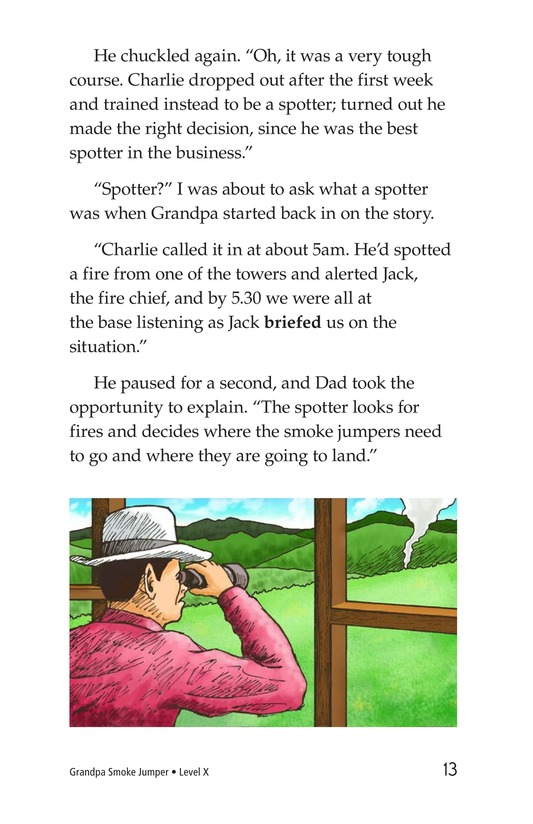 Book Preview For Grandpa Smoke Jumper Page 13