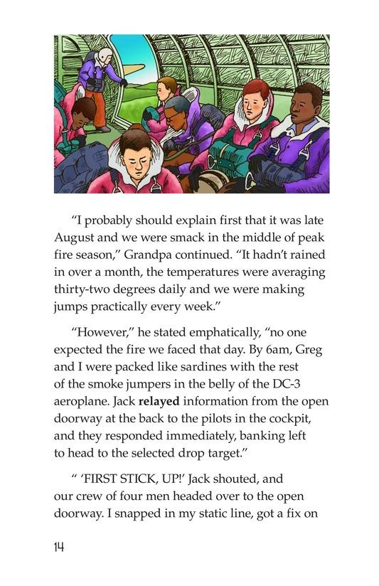 Book Preview For Grandpa Smoke Jumper Page 14
