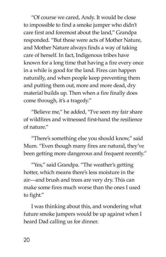Book Preview For Grandpa Smoke Jumper Page 20
