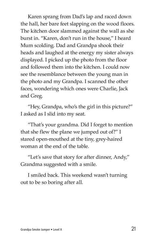 Book Preview For Grandpa Smoke Jumper Page 21