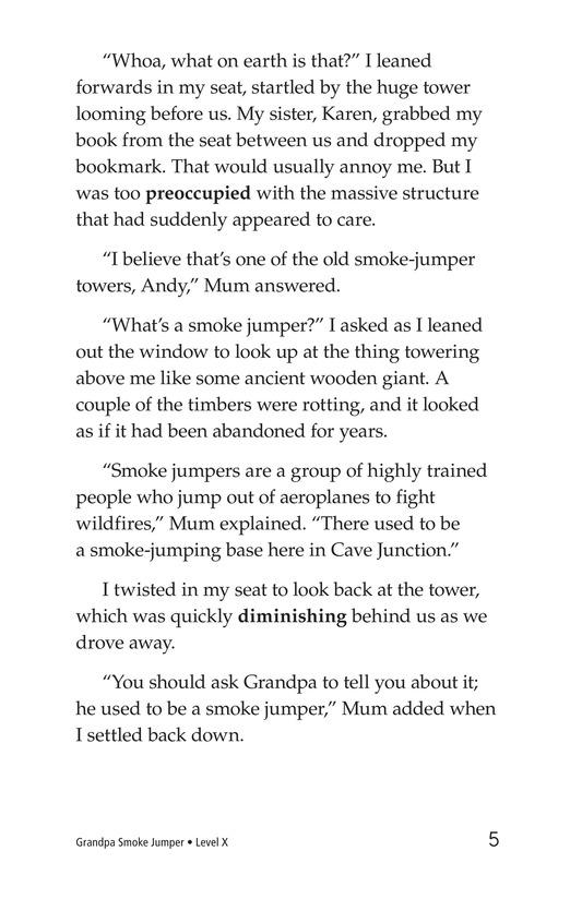 Book Preview For Grandpa Smoke Jumper Page 5