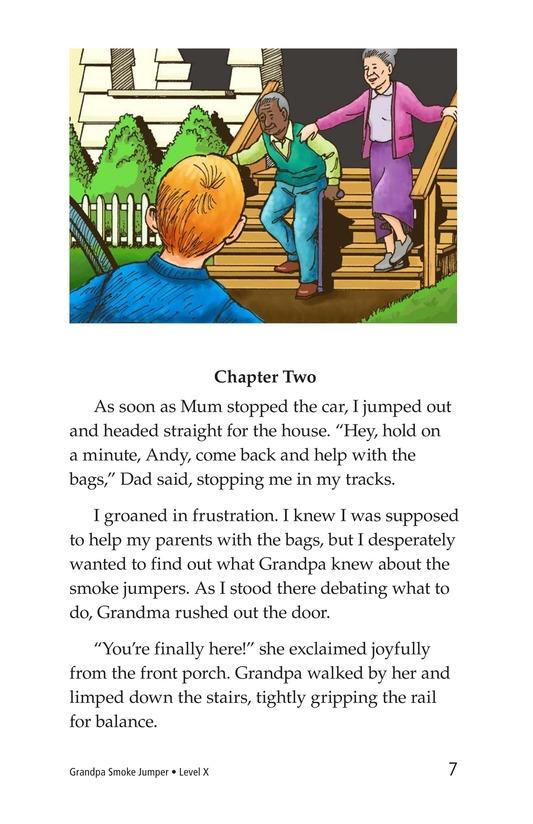 Book Preview For Grandpa Smoke Jumper Page 7