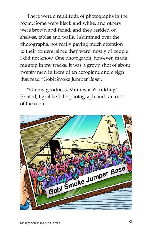 Book Preview For Grandpa Smoke Jumper Page 9