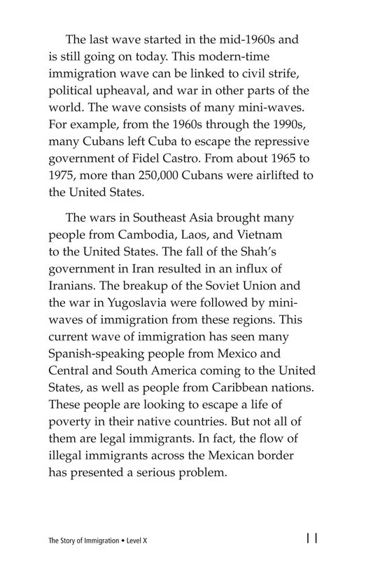 Book Preview For The Story of Immigration Page 11
