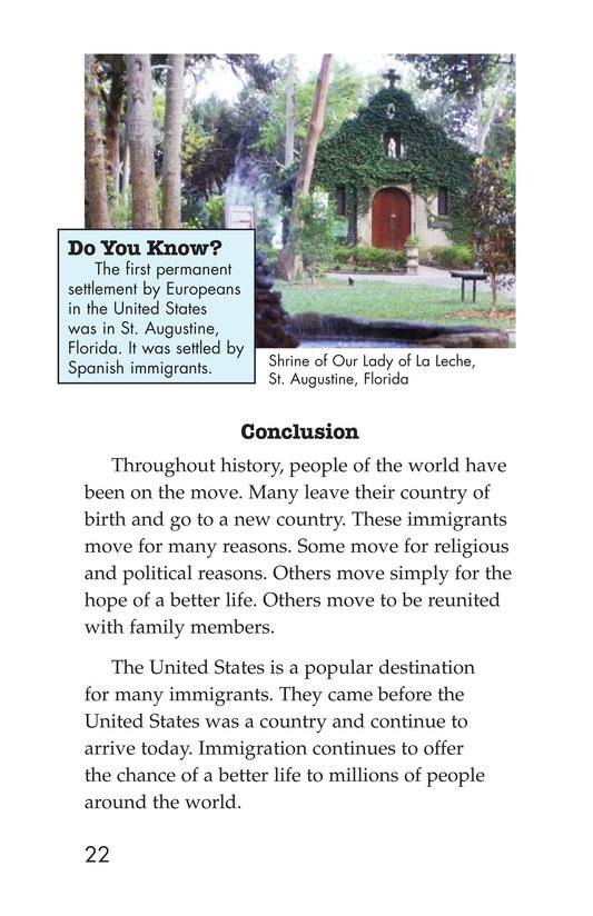 Book Preview For The Story of Immigration Page 22