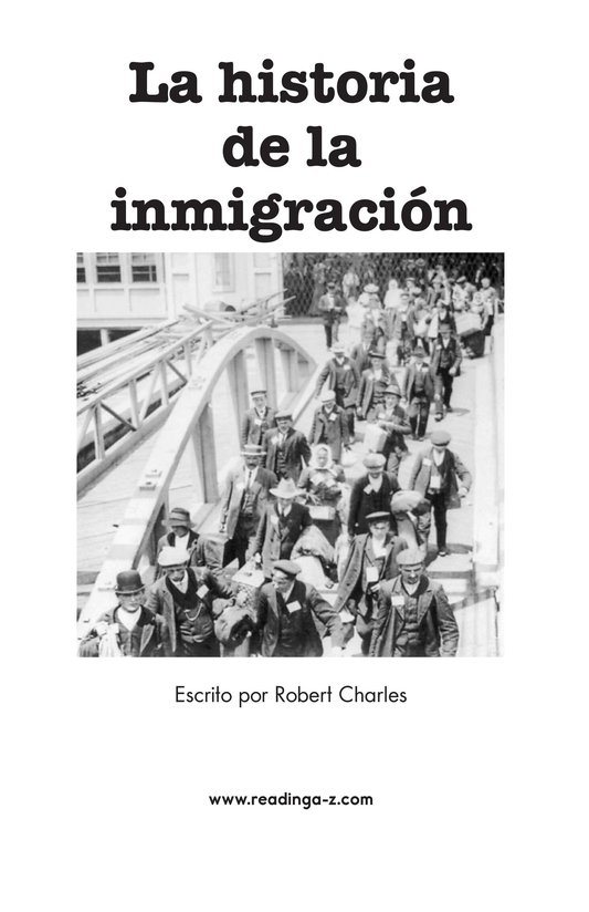 Book Preview For The Story of Immigration Page 2