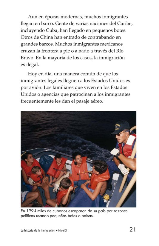 Book Preview For The Story of Immigration Page 21