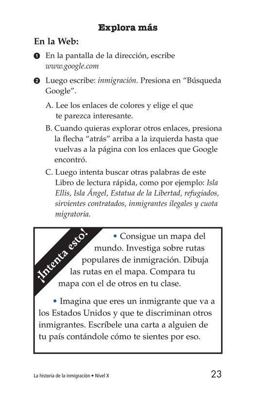 Book Preview For The Story of Immigration Page 23